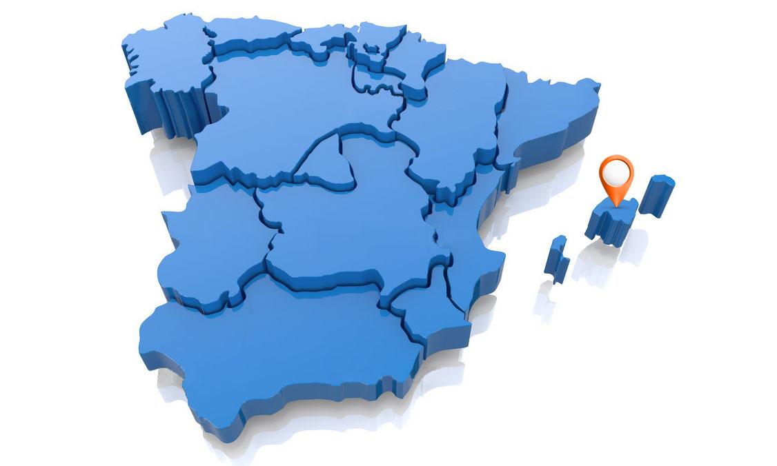 Reparar GHD en Islas Baleares